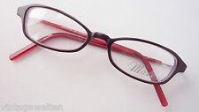 Schwarze Damenbrille Mädchenfassung mit Federbügel schmale Cateyeform Gr. S
