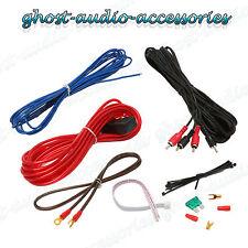 10g Guage CAR AUDIO AMPLIFICATORE Cablaggio Kit di installazione 1000 WATT
