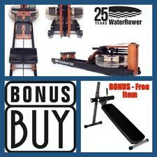 WaterRower CLUB Series Water Rower S4 + FREE Pro Abdominal Ab Bench  Save $299