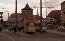PHOTO  GERMANY NÜRNBERG 1994 TRAM HBF VPL 318 LAUFER TOR