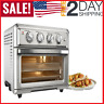 Air Fryer Toaster Oven Silver Cuisinart TOA-60