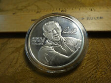Arnold Palmer Hall Of Fame Golfer 1 Ounce .999 Silver PGA Round - Free S&H USA
