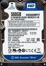 WD5000BPVT-00HXZT3 DCM: HCOT2HB WX21A Western Digital 500GB