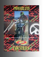 Collectable 1993 Powerlite Freestyle & BMX bicycle, product catalog