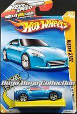 Hot Wheels 2010 New Models Blue Nissan 370Z Keychain