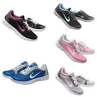 LADIES SPORTS TRAINERS GYM JOGGING RUNNING CASUAL TRAINER WOMEN GIRLS SIZE 4.5-7
