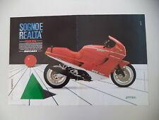 advertising Pubblicità 1989 MOTO DUCATI 906 PASO