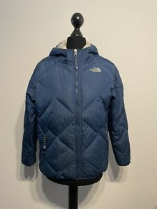The North Face Reversible 500 Goose Down Insulated Jacket Coat (Girls / Large)