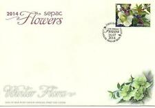 First Day of Issue Flowers Decimal Great Britain Stamps