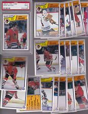 1983 - 84 OPC Team SET Lot of 20 Chicago BLACK HAWKS NM+ o-pee-chee PSA SAVARD
