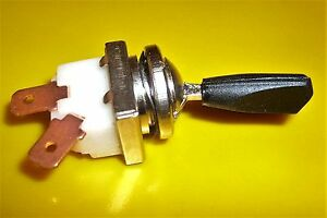 Lucas Type Toggle Switch  On /Off  12v  / 24v  Classic Car Historical