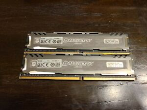 Crucial Ballistix Sport  BLS16G4D240FSB.16FBD LT 16GB DDR4 Memory RAM