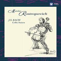 Mstislav Rostropovich - Bach The Cello Suites [CD]