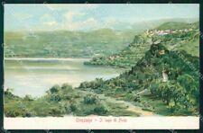 Roma Genzano Lago di Nemi cartolina RB8302