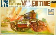Valentine British Infantry Tanque Fujimi WA12 1:76 LF4 å