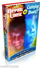 LEARN ANGER MANAGEMENT calm your temper Audio book on CD rom read, listen print