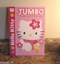Hello Kitty Coloring and Activity Book Pink New
