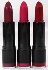 NYX Lipstick Round x 3 pack #521 CHLOE #561 VIOLET RAY #575 BLACK CHERRY new