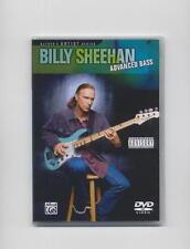BILLY SHEEHAN - ADVANCED BASS GUITAR  DVD NEW