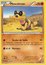 Mascaiman - N&B: Noir et Blanc - 63/114 - Carte Pokemon Française Neuve
