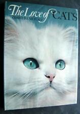 New listing The Love Of Cats Book by Christine Metcalf 1973 Hardcover 138 Color Photos