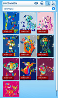 Topps Disney Collect - Color Splash Series 2 motion set with award DIGITAL