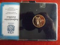 *Selten! Kanada100 Dollars Gold(13,33g-583 Au)1976 PP *Olympia Montreal