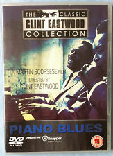 PIANO BLUES - CLINT EASTWOOD / GREAT BLUES DOCUMENTARY / 2003 / EX!