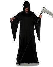 Grim Reaper Mens Adult Black Keeper Of Souls Halloween Costume