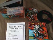 IRON MAIDEN / virtual eleven /JAPAN LTD 2CD
