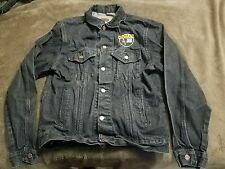 DEWALT TEAM RODEO Black Denium Jean Jacket Coat M Medium