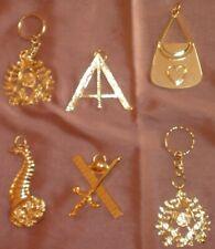 6 bijoux franc-maçon en métal doré état superbe , quasi neuf - Lot 2 sur 2