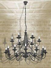 Markenlose Deckenlampen & Kronleuchter aus Chrom mit mehr als 12 Lichtern