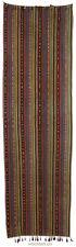 245x73 cm antik  Uzbek nomaden Jejim Kelim Teppich orient Rug kilim Usbek Nr-507