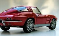 Classic 1963 Corvette 1 Chevrolet Built 24 Sport Car 25 Vintage 12 Model 43