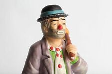 Flambro Emmett Kelly Jr. Ekj Clown Figurine Hobo with Bag