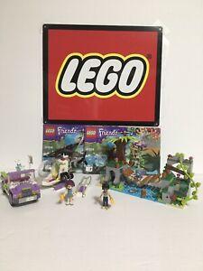 Lego Friends 41036 Jungle Bridge Rescue Set 100% Complete with Manual