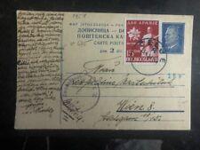 1952 Celje Yugoslavia Postcard Censored Cover To Vienna Austria