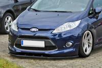 For Ford Fiesta Front Bumper Lip Cup Skirt Lower spoiler Chin Valance Splitter