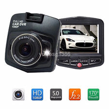 Car DVR Camera Video Recorder Dash Cam Night Vision G-Sensor 120°1080P UK