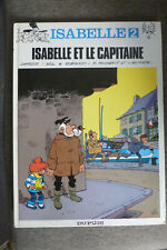 BD isabelle n°2 et le capitaine EO 1983 BE will macherot delporte