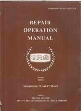 TRIUMPH TR6 ( 150hp ) 1969-1972 FACTORY REPAIR OPERATION MANUAL