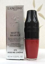 Lancome Matte Shaker Liquid Lipstick Matte Finish - Kiss Me Cherie - 374 - BNIB