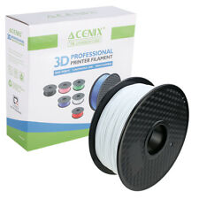 ACENIX® White PLA 3D Printer Filament, 1kg Spool Filament 1.75 mm For 3D Pens