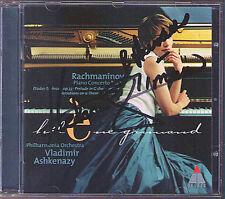 Helene GRIMAUD & ASHKENAZY Signed RACHMANINOV Piano Concerto No.2 CD Corelli Var
