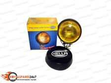 Hella Round Fog Lamp Yellow Glass + Cover Without Bulb FOR CAR TRUCK JEEP