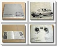 Alfa Romeo Alfasud TI 1,3 1,5 Betriebsanleitung 1978
