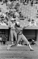 Original 35MM B&W Negative, Montreal Expos Larry Parrish 1980