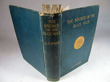 The Source of the Blue Nile by Arthur Hayes 1905 London Abyssinia Ethiopia