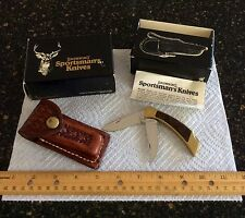 NOS Browning Sportsman's knife & sheath 2518F27 NIB with papers. USA!